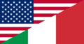 Flag of the United States and Italy.png