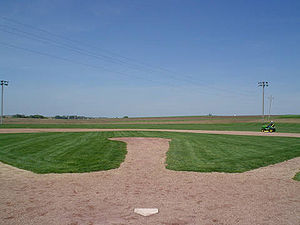The baseball field from the 1989 movie Field o...