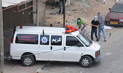 Palestinian Stone Throwing