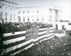 Inauguration of James A. Garfield - Image: Flickr US Capitol President James Garfield Inauguration