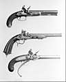Flintlock Repeating Pistol with Lorenzoni Action, bearing the Crests of Vice Admiral Horatio Nelson, with Case and Acccessories MET 153978.jpg