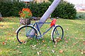 Floral bicycle - panoramio.jpg