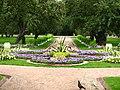 Flowerbeds in apple orchard (Kolomenskoye) 01.JPG