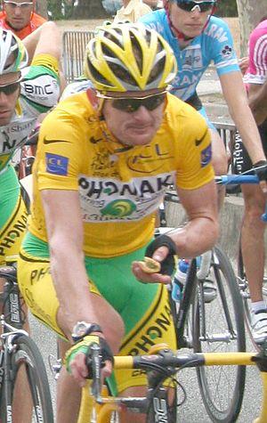 Floyd Landis doping case - Floyd Landis on the Tour de France on July 23, 2006