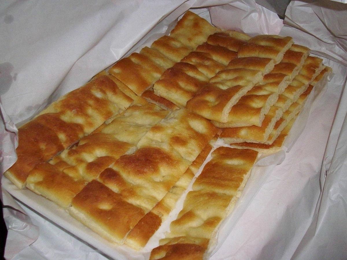Ricetta Focaccia Genovese Bassa.Focaccia Genovese Wikipedia