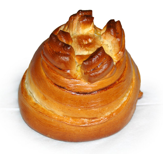Fogaça -- a typical sweet bread from Santa Maria da Feira, Portugal.