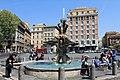 Fontána tritonů na nám Barberini Roma 2011 4.jpg