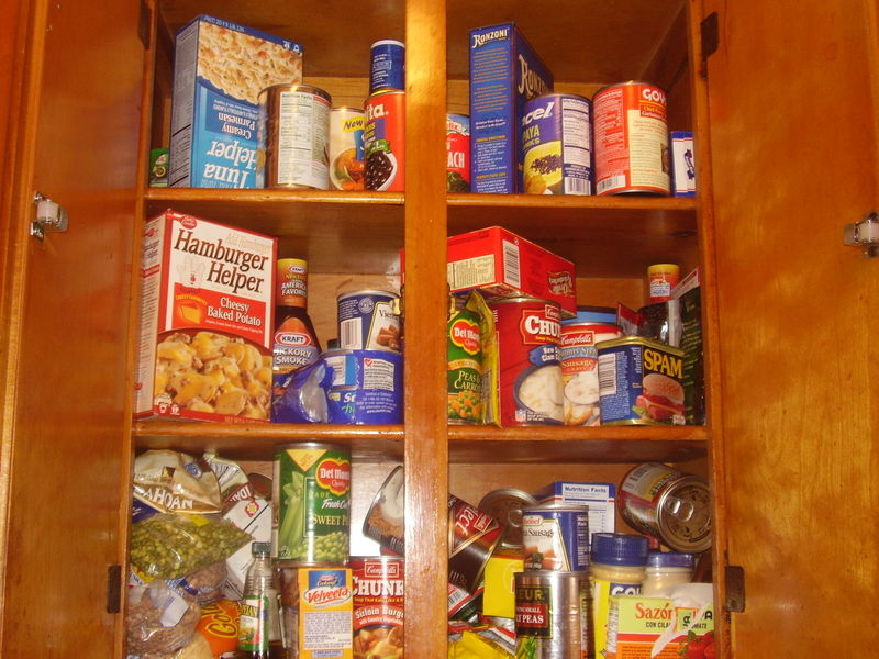Prepper Canned Food Balanced Diet
