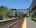 Footbridge at Grafton station, June 2012.JPG