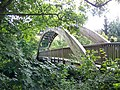 Footbridge over Afon Banwy at Llanfair Caereinion - geograph.org.uk - 553866.jpg