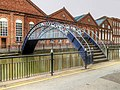Footbridge over Witham Navigation, Lincoln (geograph 4114566).jpg