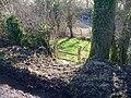Footpath crosses road - geograph.org.uk - 1659756.jpg