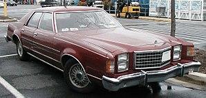Ford LTD II - Ford LTD II S four-door sedan