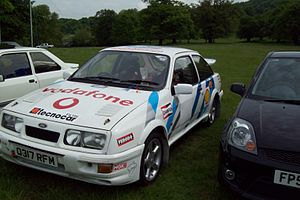 Ford Sierra RS Cosworth - Sierra RS Cosworth rally car
