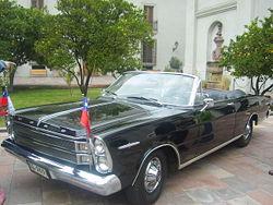 Ford Galaxie 500 XL De 1966 Que Sirve Como Transporte Del Presidente Chile
