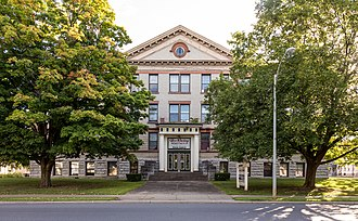 Glens Falls High School - The old school is now an apartment building