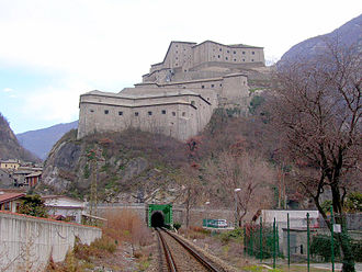 Fort Bard - Image: Fort Bard, AO, Italy