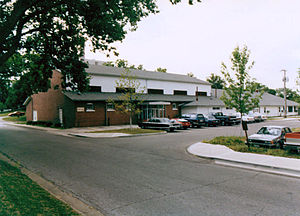 History of the School of Advanced Military Studies - Flint Hall, circa 1980s.