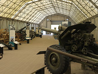 Fort Nelson, Hampshire - Part of the Artillery Hall at Fort Nelson