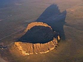 Tuff Ring Volcano
