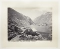Fotografi av sjö, berg och vandrarhem i Schweiz - Hallwylska museet - 103184.tif