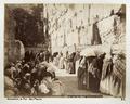 Fotografi på klagomuren i Jerusalem - Hallwylska museet - 104368.tif