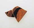 Fragment of a terracotta kylix (drinking cup) MET sf201160311front.jpg