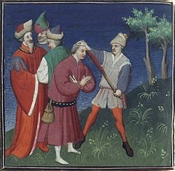 Français 226, fol. 258v, Supplice d'Isaac II.jpeg