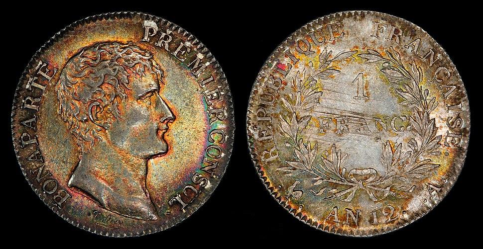 France 1803-A 1 Franc