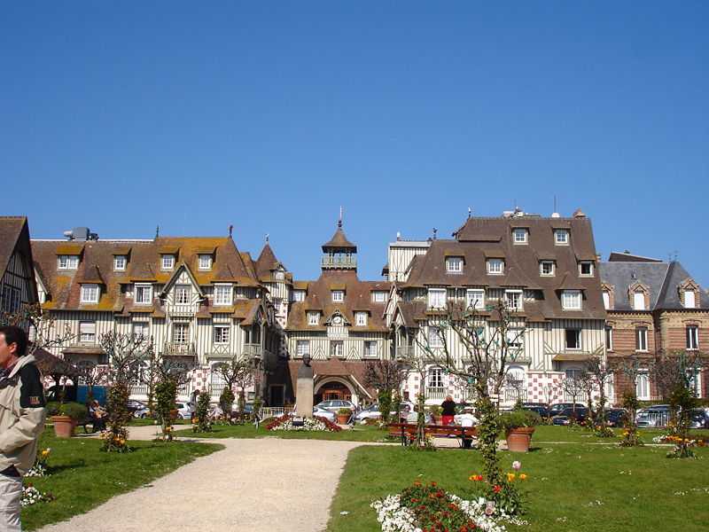 File:France calvados deauville hotel normandy.jpg