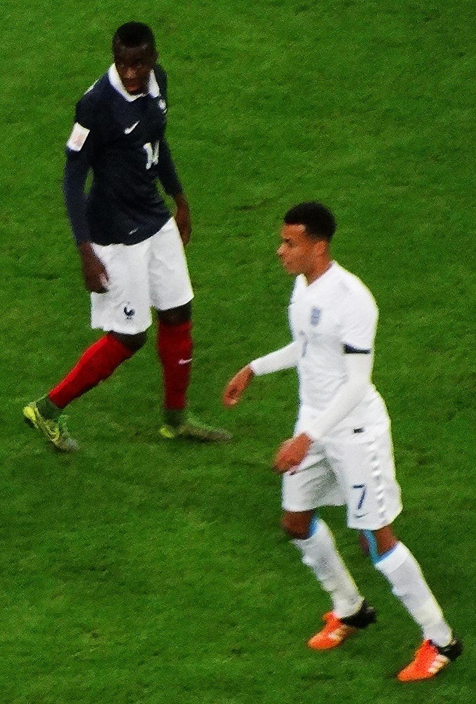 France midfielder Blaise Matuidi and England midfielder Dele Alli (23125466531)