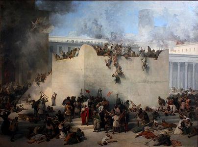 Francesco Hayez - Distruzione des tempio di Gerusalemme.jpg