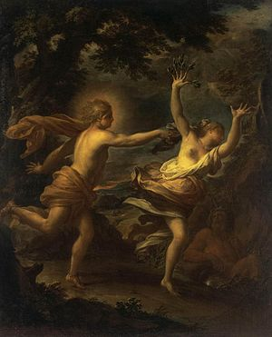 Francesco Trevisani -  Francesco Trevisani - Apollo and Daphne