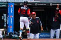Francisco Lindor and Terry Francona (36470888680).jpg