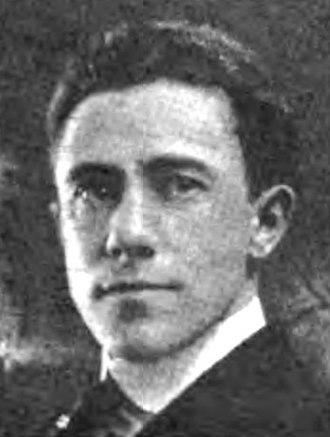 Frank King (cartoonist) - Image: Frank O. King (ca 1916)