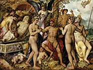 Frans Floris - The Judgment of Paris - WGA07945