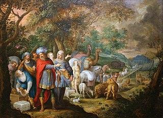 Entrée de Noé dans l'Arche