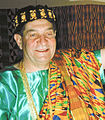 Fred Levin being Made Ghana Chief.jpg