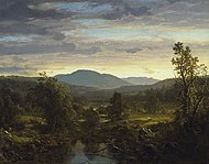 Frederic Edwin Church Sunset in the Berkshire Hills.jpg