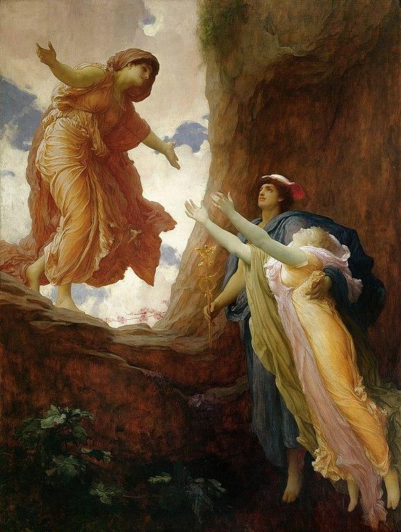 Resultado de imagen de frederic leighton el regreso de persefone