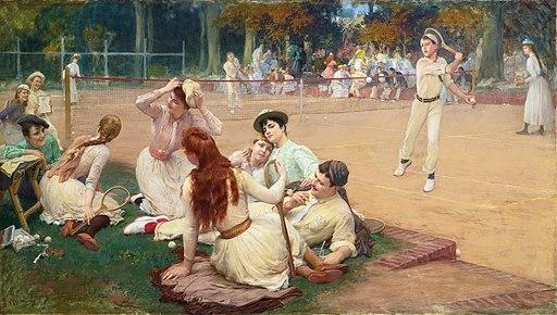 Frederick Arthur Bridgman, 1891 - Lawn Tennis Club