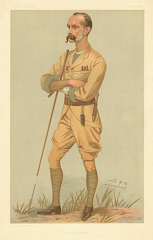 Frederick Lugard, 1st Baron Lugard - Lugard caricatured by Spy for Vanity Fair, 1895