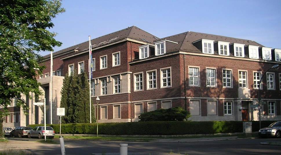 Freie Universitaet Berlin - Praesidialamt - ehemalige Alliierte Kommandantur Berlin