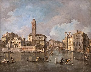 Francesco Guardi - Image: Frencesco Guardi Grand Canal Venice