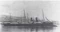 Milan, a late 19th Century unprotected cruiser of the French Navy