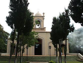 Cordillera Department - Church in the Altos district.