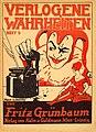Fritz Grünbaum - Verlogene Wahrheiten, Heft 5. Umschlag von Kurt Libesny.jpg