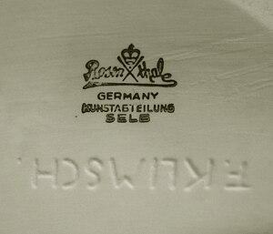 Fritz Klimsch - Image: Fritz Klimsch factory mark Galaweb Design