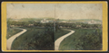 From the Bell Tower, looking south, the Terrace and Mall in the distance, by T. C. Roche.png