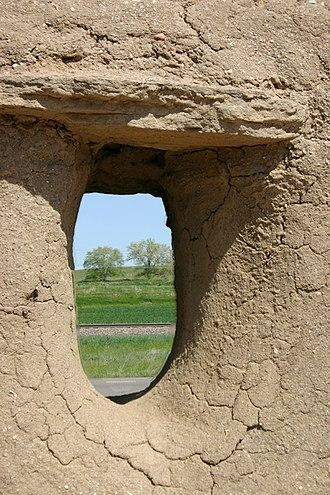 Fort Vasquez - Image: Ftvasquezwindow
